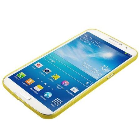 Schutzhülle Case Ultra Dünn 0,3mm für Handy Samsung Galaxy Mega 6.3 / i9200 Gelb Transparent – Bild 2