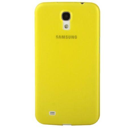 Schutzhülle Case Ultra Dünn 0,3mm für Handy Samsung Galaxy Mega 6.3 / i9200 Gelb Transparent – Bild 3