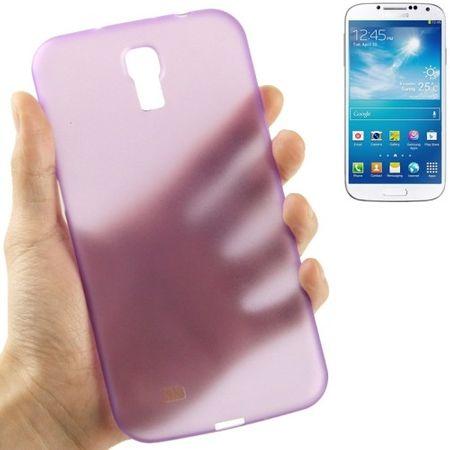 Schutzhülle Case Ultra Dünn 0,3mm für Handy Samsung Galaxy Mega 6.3 / i9200 Lila / Violett Transparent