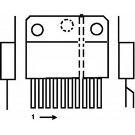 3 x TDA3653B-PHI VERTICAL DEFLECTION AND GUARD CIRCUIT