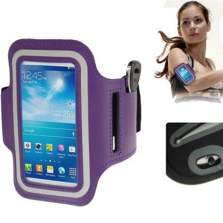 Tasche Armband für Samsung Galaxy S4 mini i9190 Lila / Violett