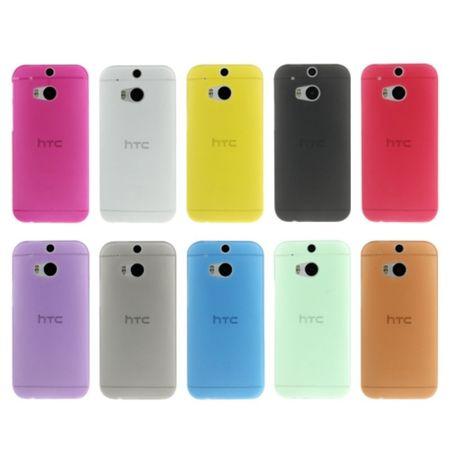 Schutzhülle Case Ultra Dünn 0,3mm für Handy HTC One M8 / M8s Blau Transparent – Bild 6