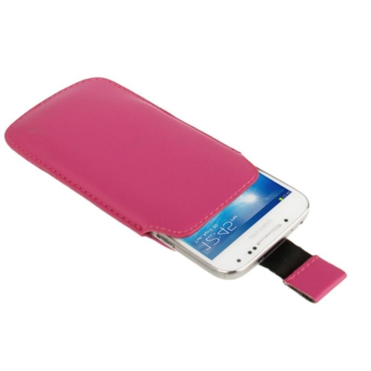Handyhülle Tasche Slide Hülle Pink