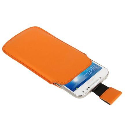 Handyhülle Tasche Slide Hülle Orange