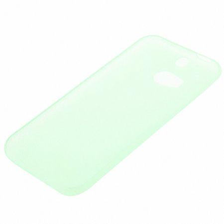 Schutzhülle Case Ultra Dünn 0,3mm für Handy HTC One M8 / M8s Grün Transparent – Bild 4