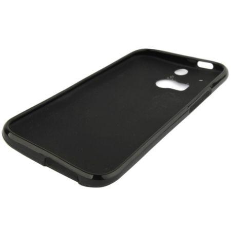 Schutzhülle TPU Case für Handy HTC One M8 / M8s Schwarz – Bild 3