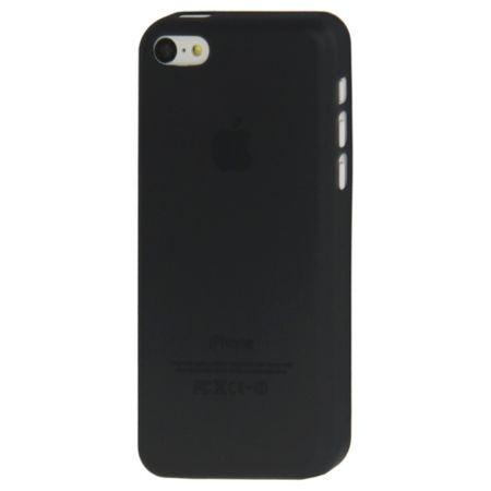 Schutzhülle Case Ultra Dünn 0,3mm für Handy Apple iPhone 5C Schwarz – Bild 3