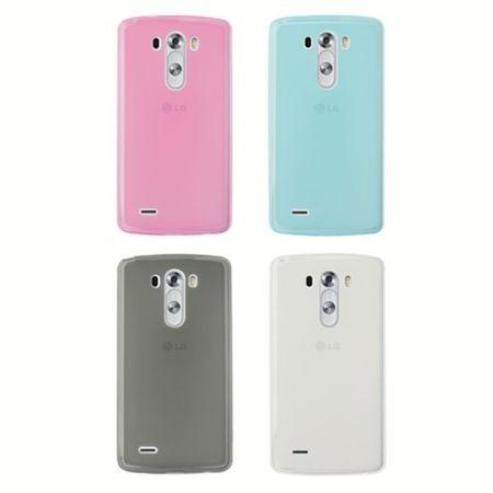 Handyhülle Transluzente TPU Tasche für LG G3 / D-850 / LS-990 / D855 Pink – Bild 5