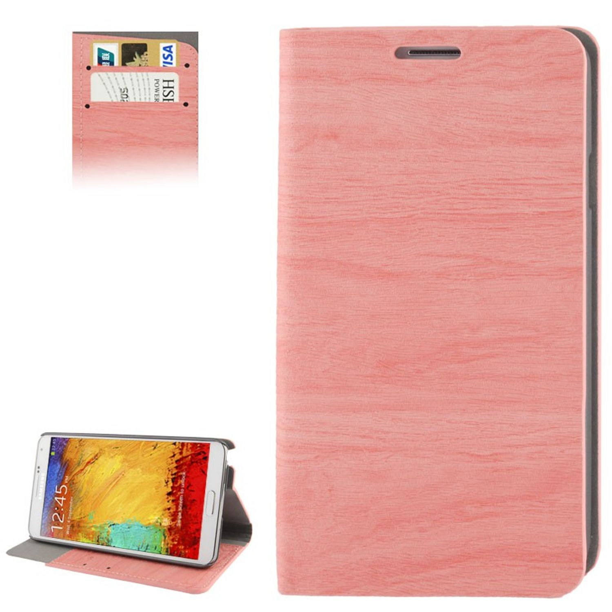 Design Handytasche für Samsung Galaxy Note 3 N9000 Rosa