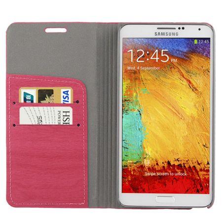 Design Handytasche für Samsung Galaxy Note 3 N9000 Pink – Bild 2