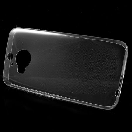 HTC One M9 Plus Transparent Case Hülle Silikon