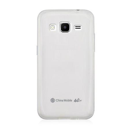 Samsung Galaxy Core Prime Transparent Case Hülle Silikon – Bild 3