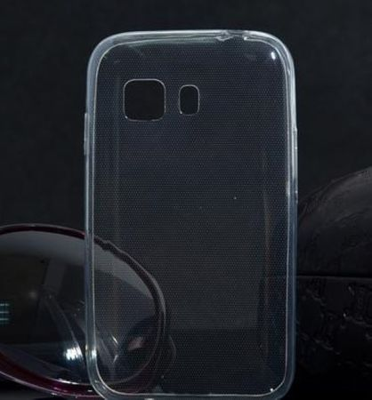 Samsung Galaxy Young 2 Transparent Case Hülle Silikon