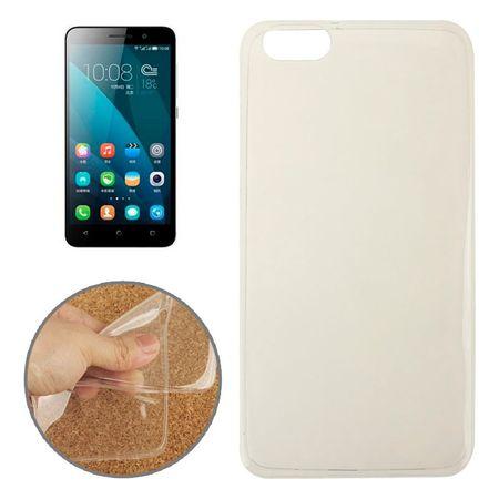 Ultra Dünn Schutzhülle Handytasche Etuis TPU für Handy Huawei Honor 4X Transparent Klar