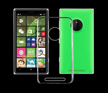 Nokia Lumia 830 Transparent Case Hülle Silikon
