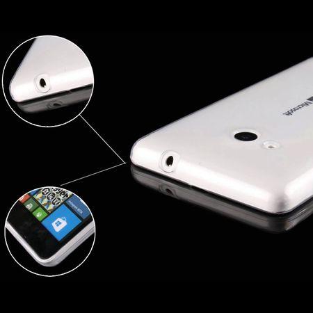Microsoft Lumia 435 Transparent Case Hülle Silikon – Bild 3