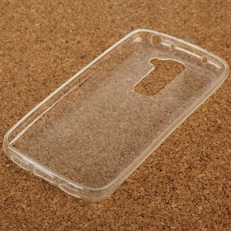 LG G2 mini Transparent Case Hülle Silikon – Bild 4