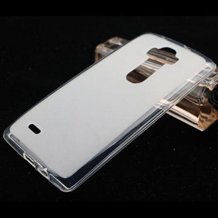 Ultra Dünn Schutzhülle Handytasche Etuis TPU für Handy LG Electronics G Flex 2 Transparent Matt
