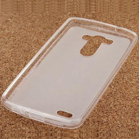 Ultra Dünn Schutzhülle Handytasche Etuis TPU für Handy LG Electronics G3 S Transparent Matt – Bild 3