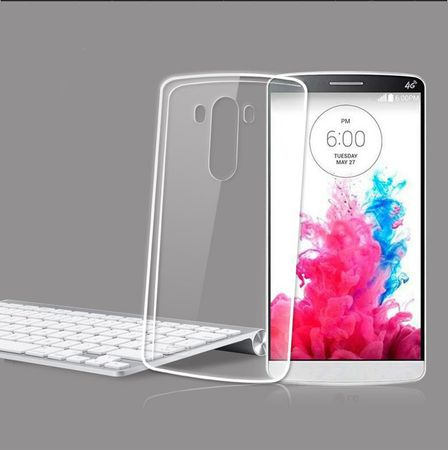 LG G4s / G4 Beat Transparent Case Hülle Silikon