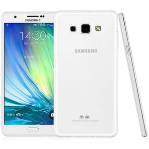 Samsung Galaxy A8 Transparent Case Hülle Silikon