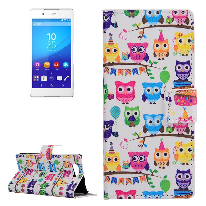 handyh lle tasche f r handy sony xperia z4 compact bunte. Black Bedroom Furniture Sets. Home Design Ideas