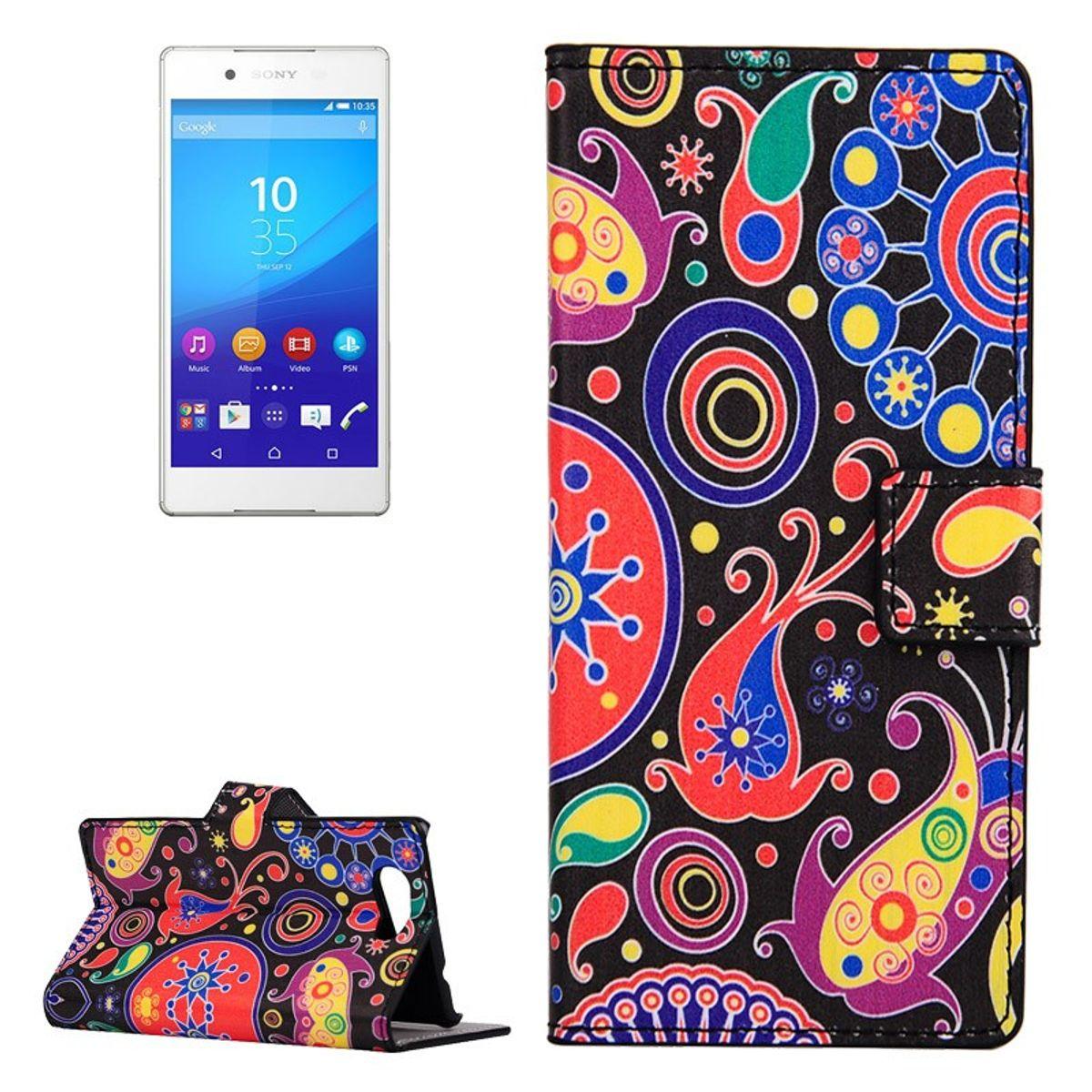 Handyhülle Tasche für Handy Sony Xperia Z4 Compact Farbflash LSD