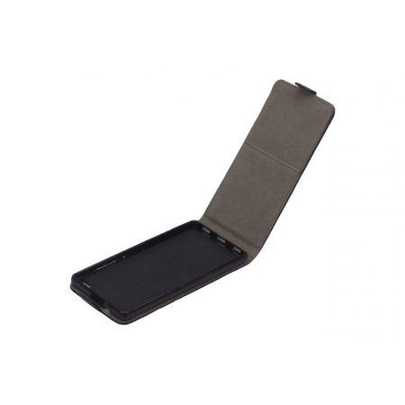 Handy Tasche (Slim Flex) Huawei P8 Schwarz – Bild 2