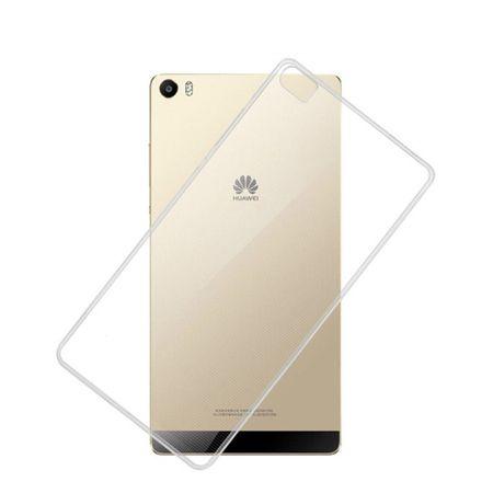 Ultra Dünn Schutzhülle Handytasche Etuis TPU für Handy Huawei P8max Transparent Grau