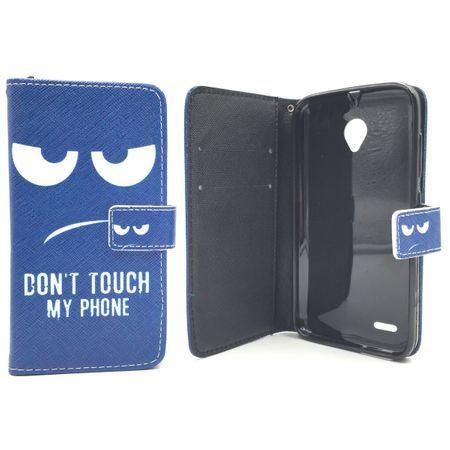 Handyhülle Tasche für Handy Vodafone Smart Prime 6 Dont Touch my Phone – Bild 3
