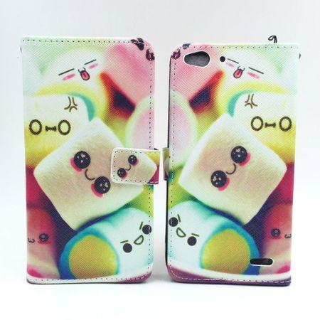 Handyhülle Tasche für Handy Vodafone Smart Ultra 6 Schriftzug Marshmallows – Bild 2