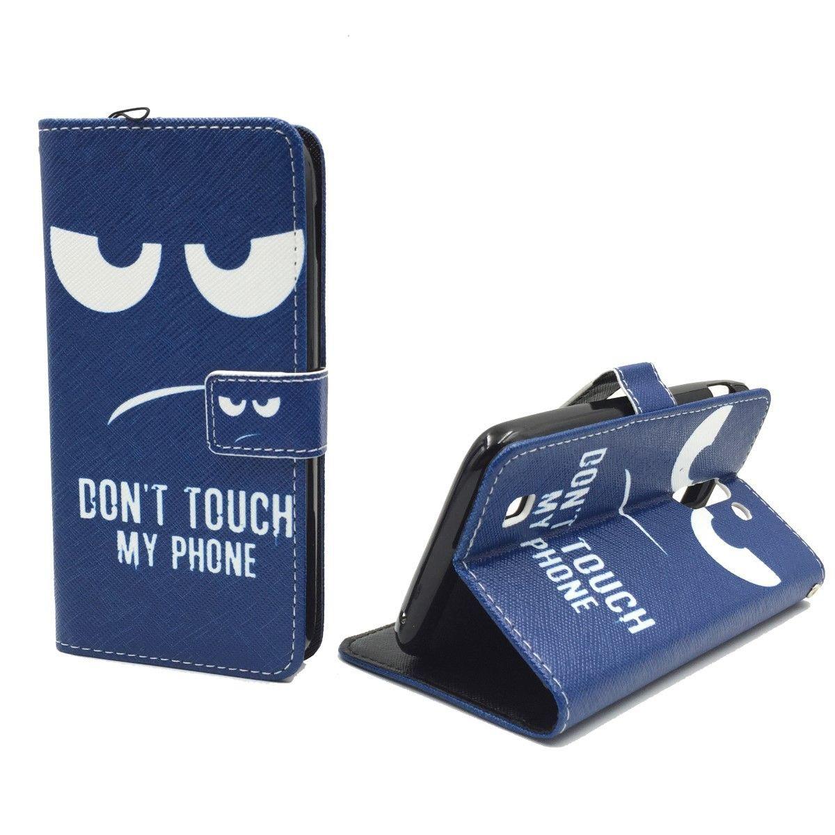 Handyhülle Tasche für Handy Archos 50c Neon Dont Touch my Phone