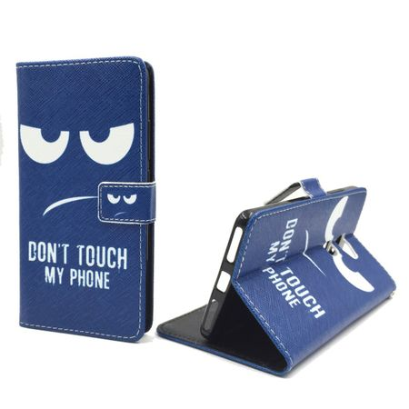 Dont Touch My Phone Handyhülle Huawei Mate S Klapphülle Wallet Case
