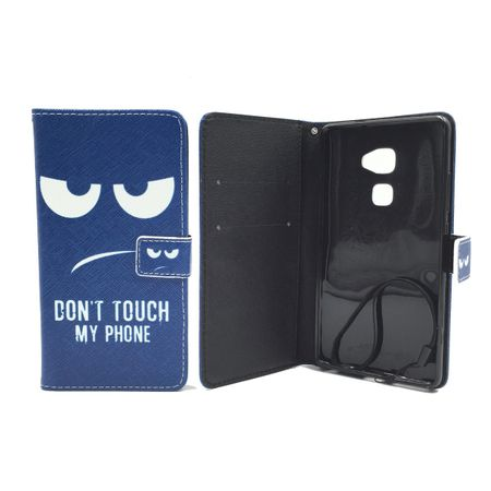 Dont Touch My Phone Handyhülle Huawei Mate S Klapphülle Wallet Case – Bild 3
