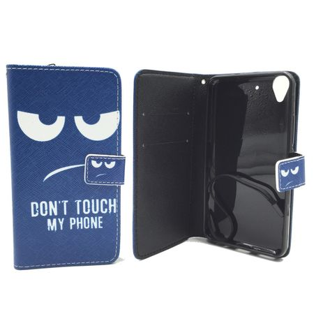 Dont Touch My Phone Handyhülle Huawei Y6 Klapphülle Wallet Case – Bild 3