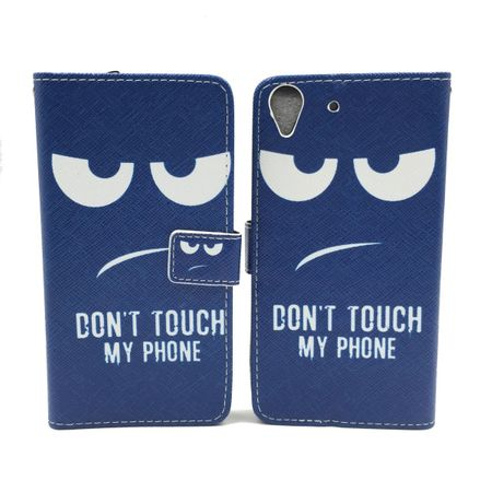 Dont Touch My Phone Handyhülle Huawei Y6 Klapphülle Wallet Case – Bild 5