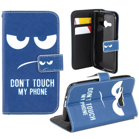 Handyhülle Tasche für Handy Samsung Galaxy A3 Dont Touch my Phone