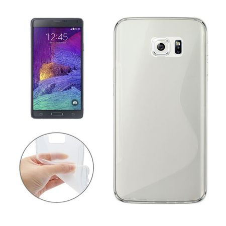 OTB TPU Case kompatibel zu Samsung Galaxy Note 5 S-Curve transparent