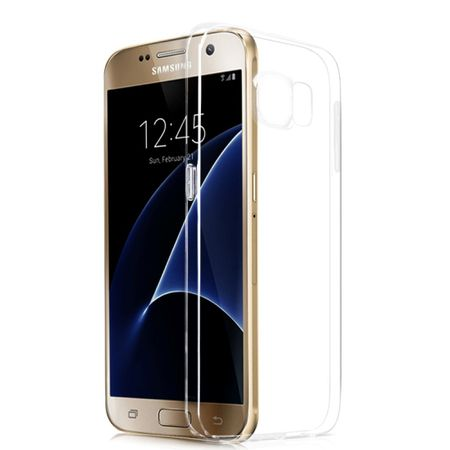 Samsung Galaxy S7 Transparent Case Hülle Silikon