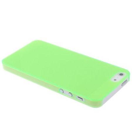 Backcover Hülle (slim) Apple iPhone SE grün