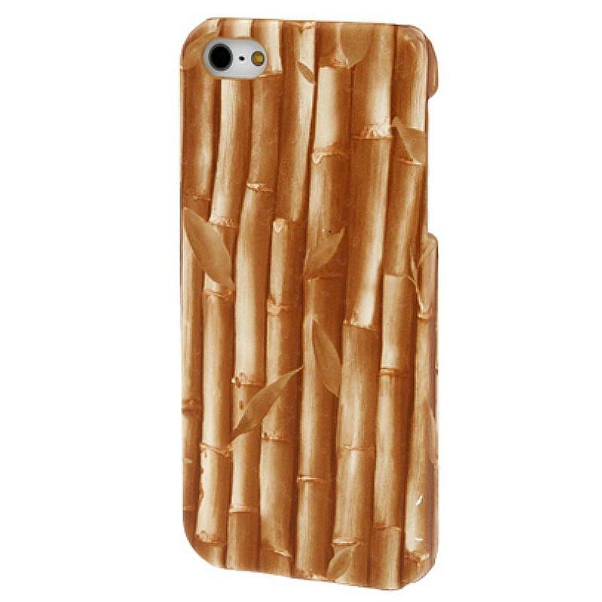 schutzh lle im bambus design f r apple iphone se. Black Bedroom Furniture Sets. Home Design Ideas