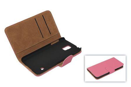 Schutzhülle Handytasche (Flip Quer) für Handy Apple iPhone SE Rosa