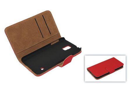 Schutzhülle Handytasche (Flip Quer) für Handy Apple iPhone SE Rot