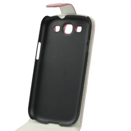Handy Tasche Flip dünn für Samsung Galaxy S3 i9300 / i9305 / S3 NEO i9301 Rosa – Bild 5