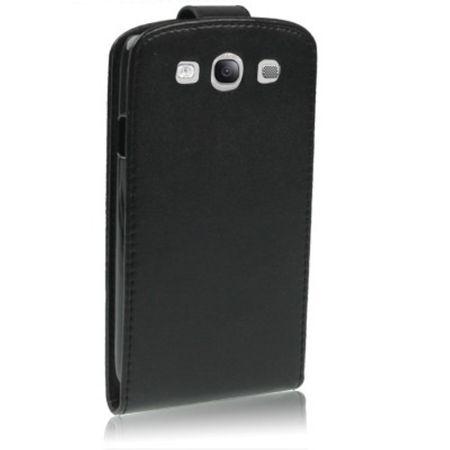 Handy Tasche Flip dünn für Samsung Galaxy S3 i9300 / i9305 / S3 NEO i9301 Schwarz – Bild 4