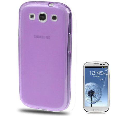 Schutzhülle TPU Case für Handy Samsung I9300 Galaxy S3 lila