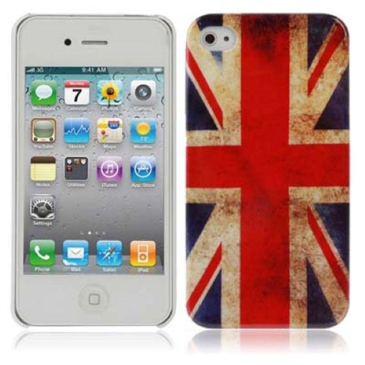 Schutzhülle Hard Case für Handy iPhone 4 4S 4G England