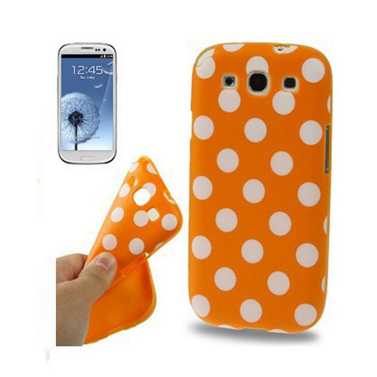 Schutzhülle TPU Case für Handy Samsung I9300 Galaxy S3 Orange