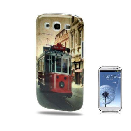 Schutzhülle Hard Case Hülle für Handy Samsung Galaxy S3 i9300 / i9305 / S3 NEO i9301 Tram