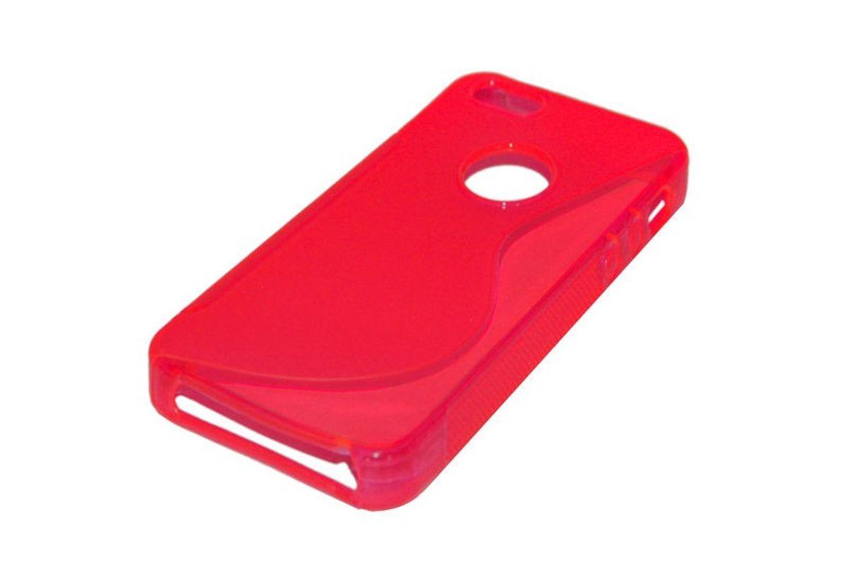 TPU Backcover S-Line Hülle für Handy Apple iPhone 5 / 5s